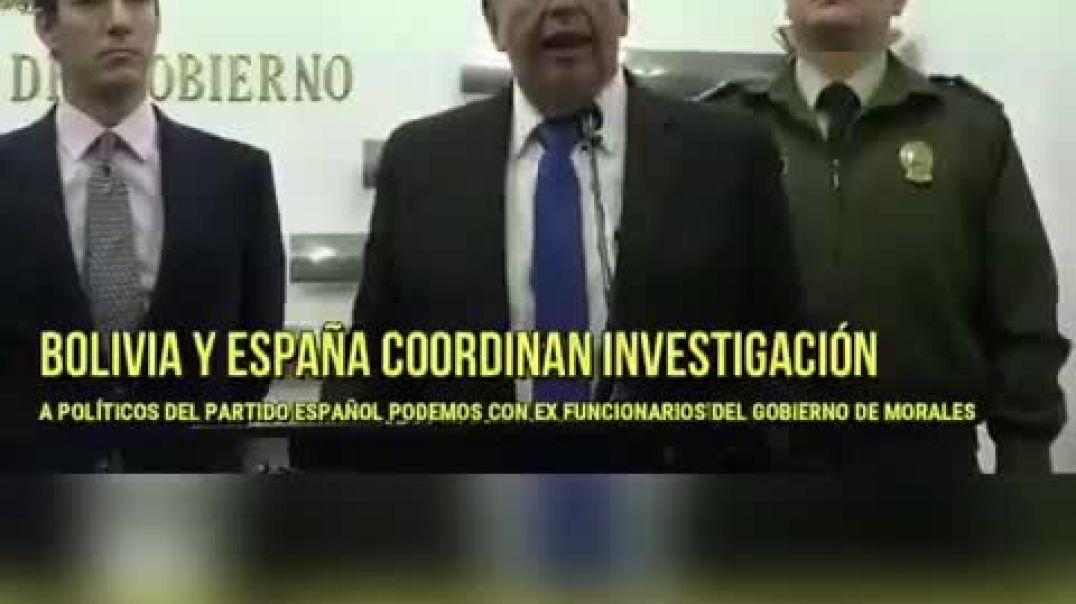 Bolivia y España coordinan investigación