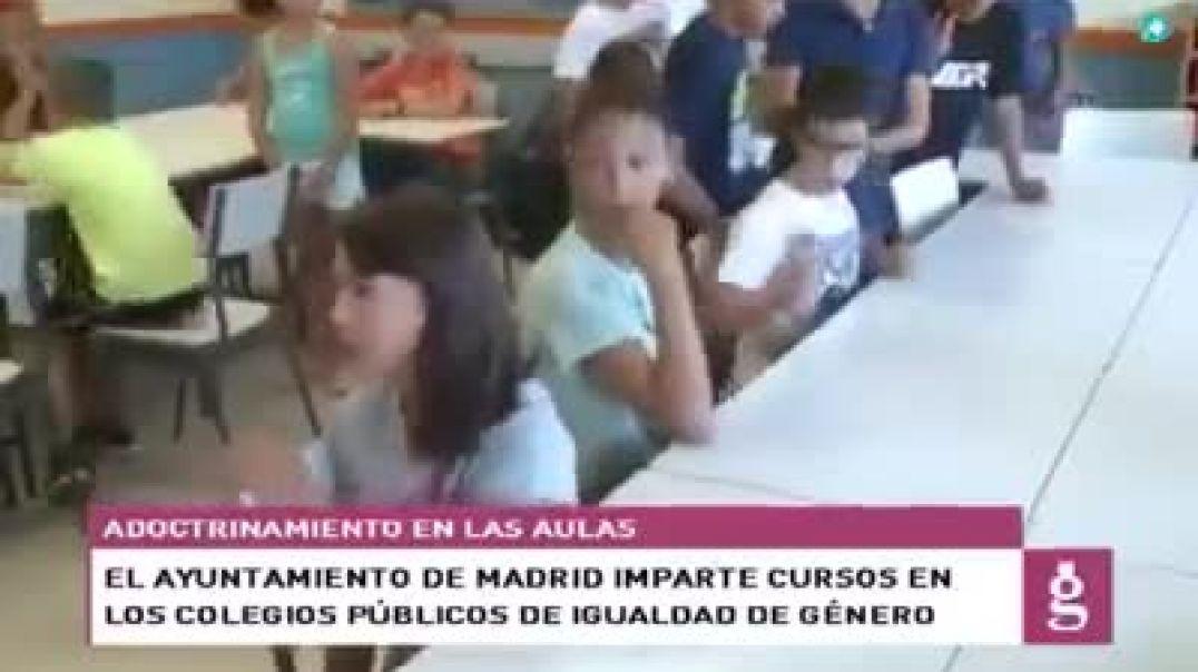 El Ayunta-miento de Madrid imparte clases de idiologia de genero