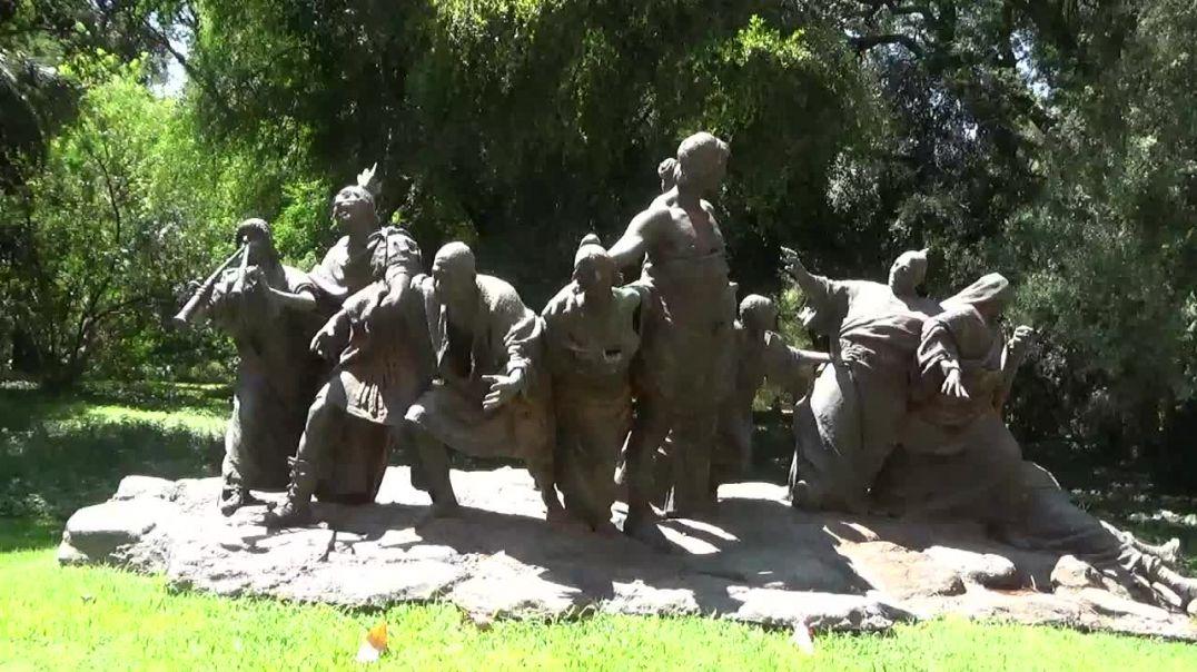 Monumento a Saturnalia,Jardin Botanico,Buenos Aires