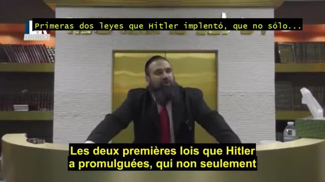 Rabino explica cómo resurgió Alemania y alarma a sobre un nuevo holocausto.