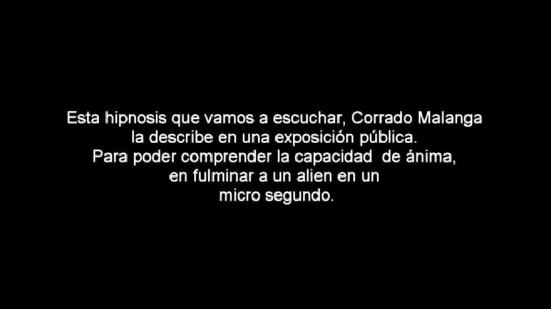 CORRADO MALANGA EN ESPAÑOL, DÍALOGO CON ÁNIMA, audio texto