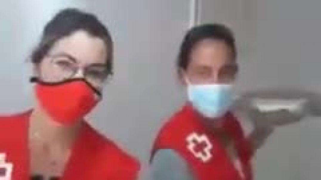 Cruz Roja y los inmigrantes en Canarias