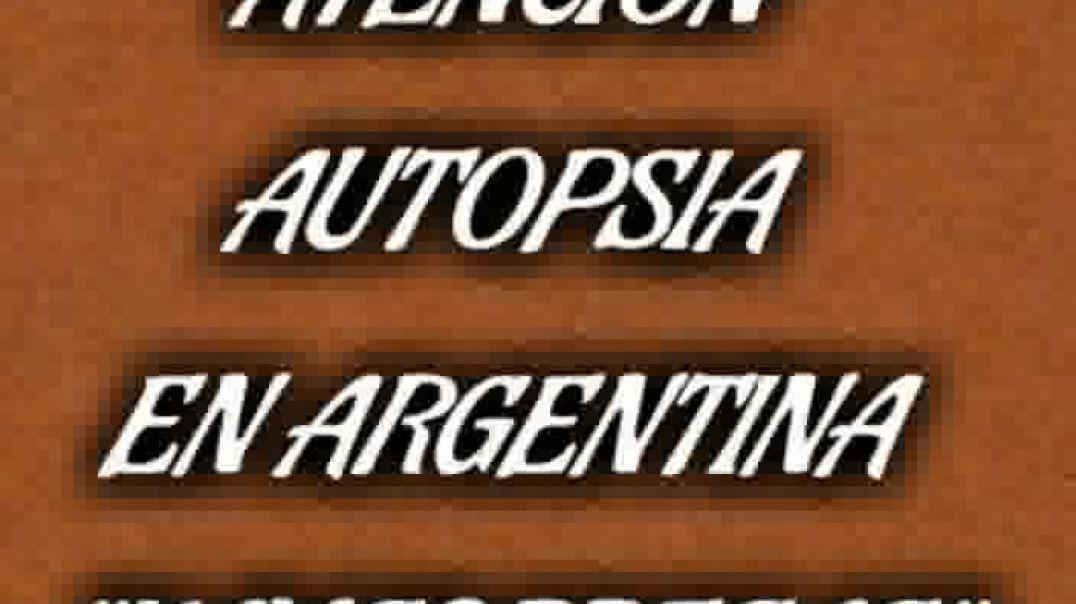 Autopsia en argentina