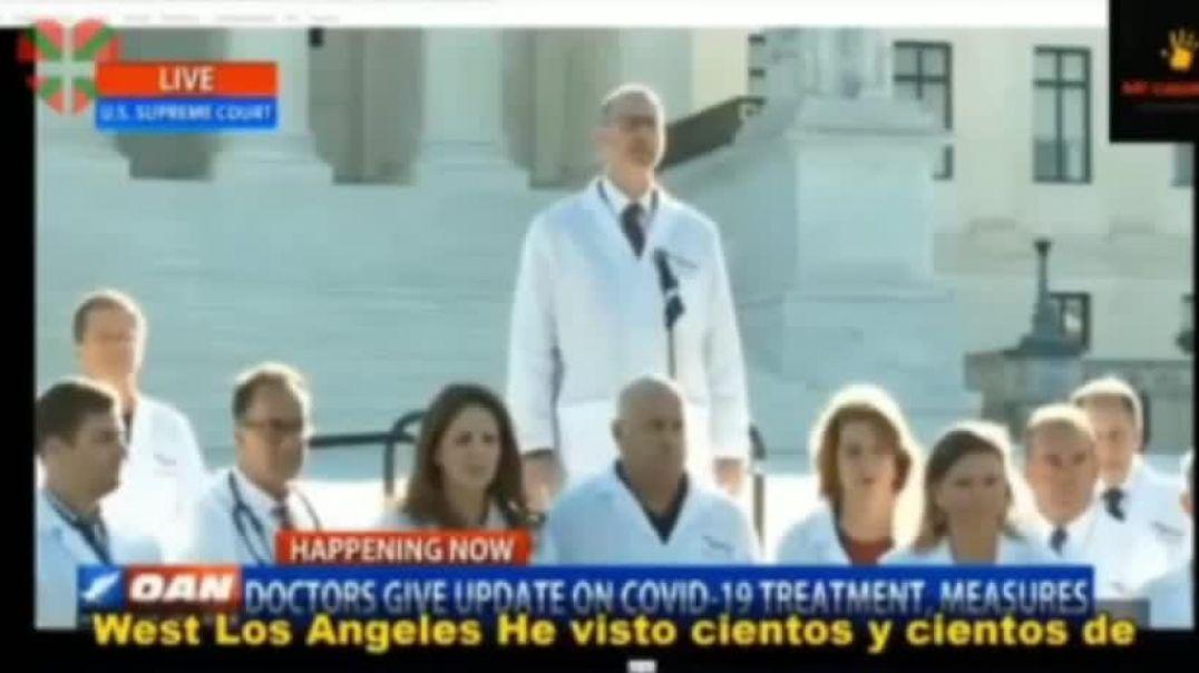 Doctor Marck Mcdonald DESMIENTE MEDIDAS DE AISLAMIENTO SEAN BENEFICIOSAS