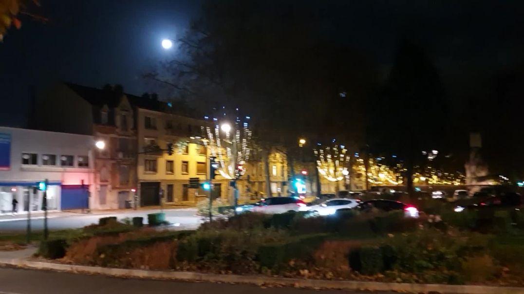 Noche en Orleans Francia.