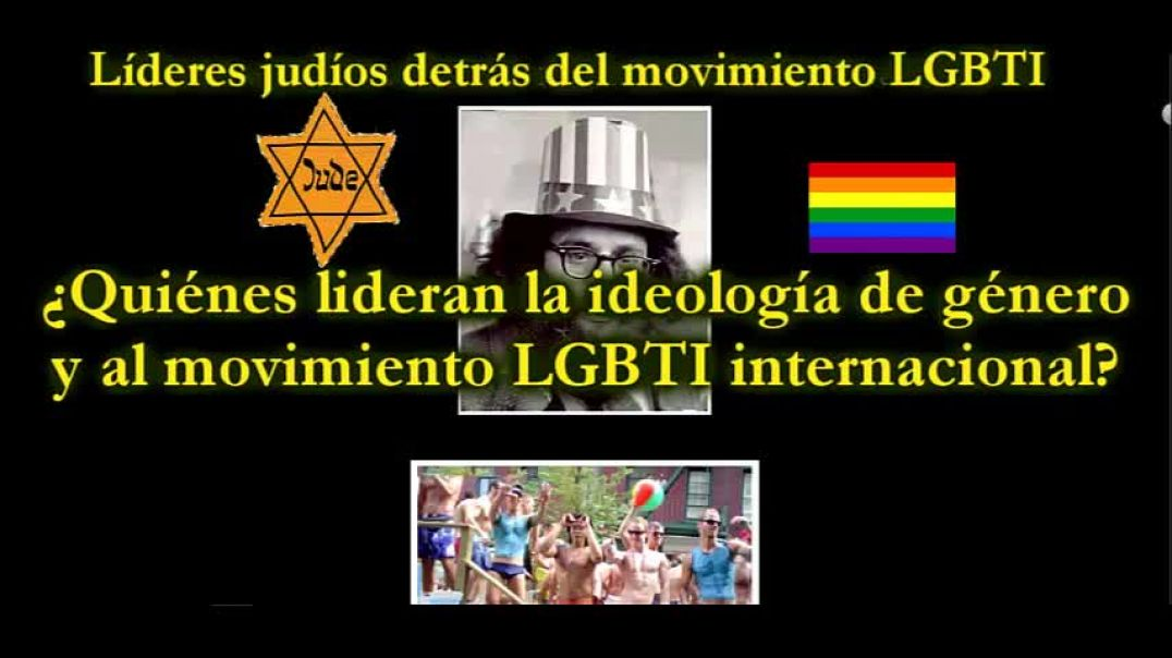 Loby LGBT  . Plan Sionista