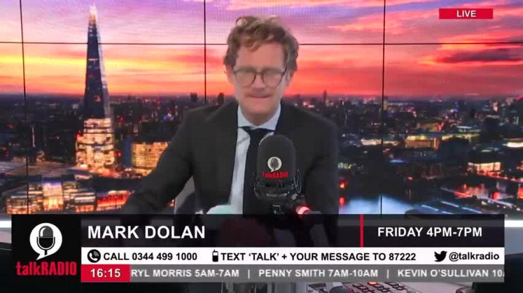 El presentador de televisión inglés Mark Dolan