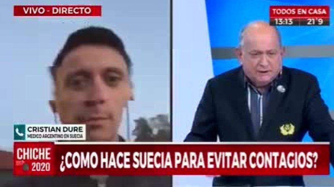 MÉDICO ARGENTINO EN SUECIA