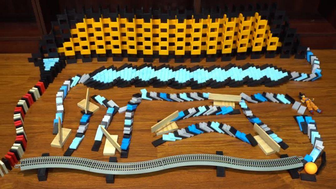 Fichas de domino muestran la imagen completa, DRAGÓN