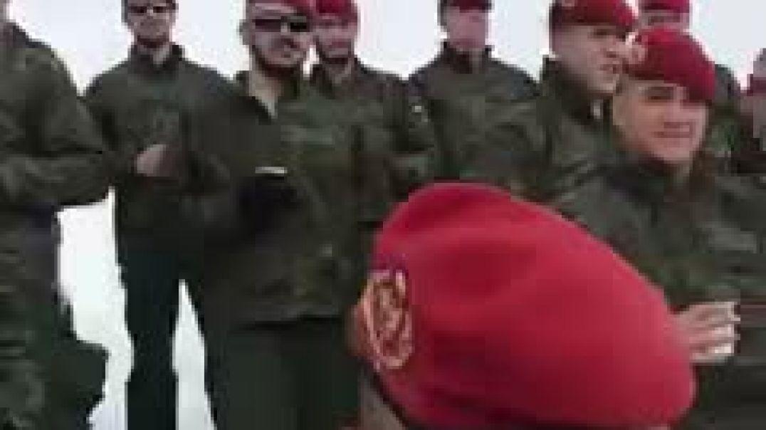 Brindis de los militares Españoles!
