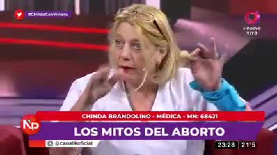 CHINDA BRANDOLINO HABLA SOBRE EL ABORTO