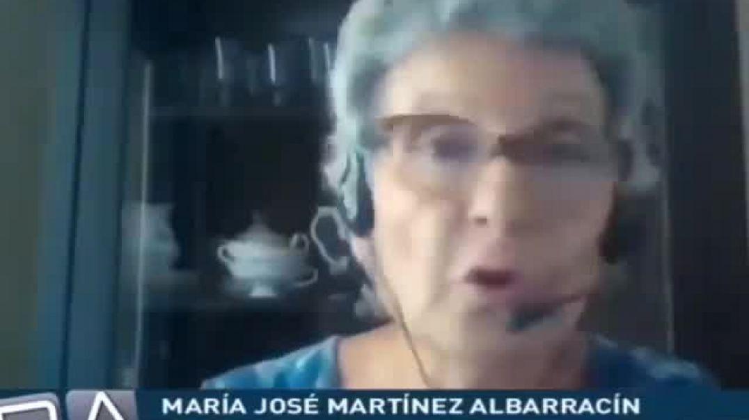 La doctora Maria José Martínez Albarracín dando catedra