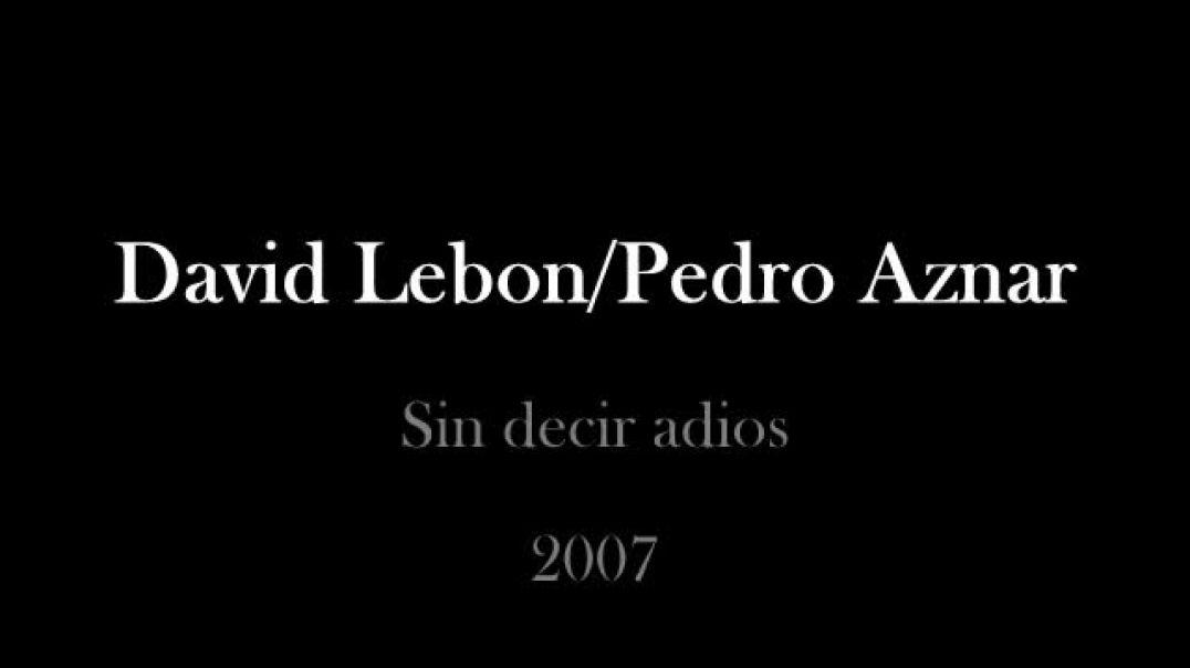 David lebon Pedro Aznar
