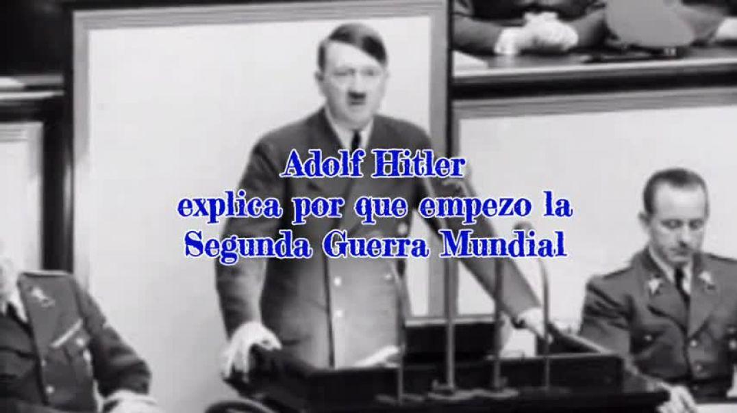 Hitler sobre la declaración de guerra de las naciones aliadas