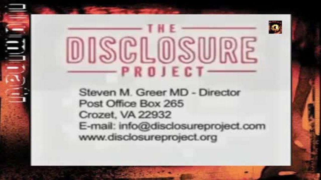 Disclosure Project (sólo Dr Steve COMFERENCIA ORIGINAL 9 HORAS BORRADA DE TODO INTERNET)