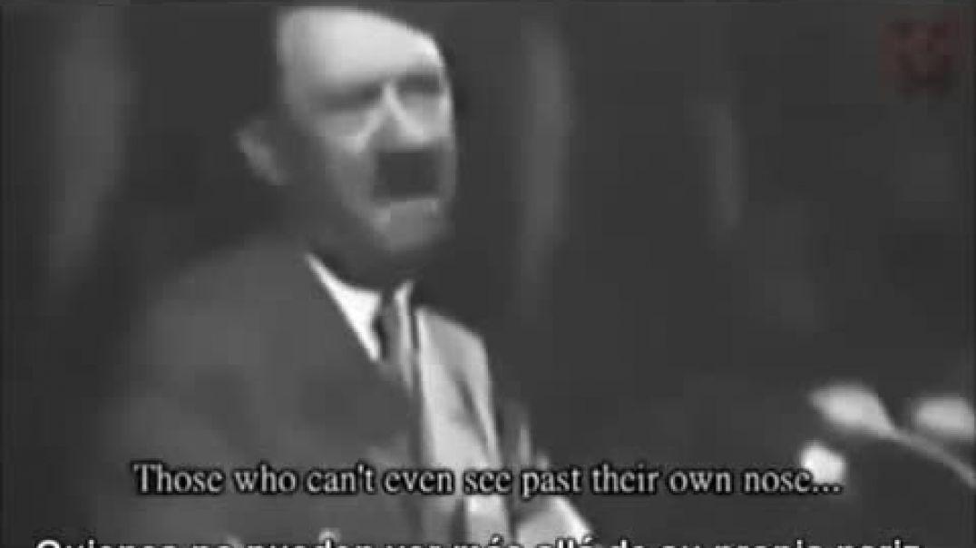 Discurso de Hitler sobre las donaciones de invierno