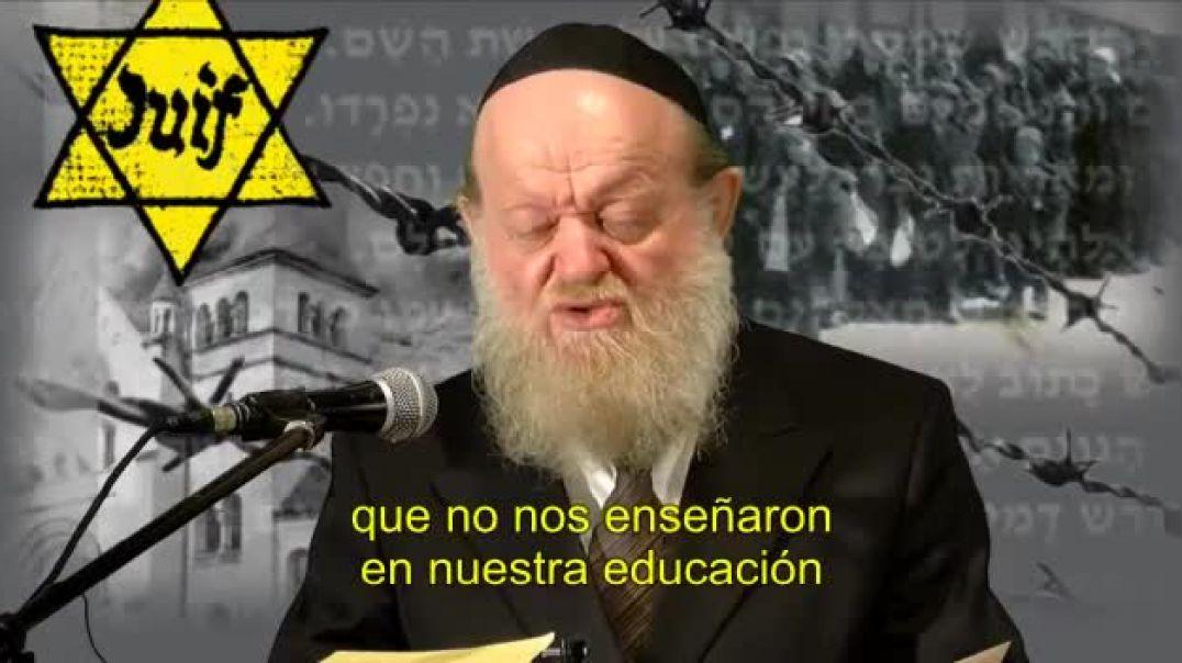 Este profesor dice: Tenía razón lo que decía Hitler de los judios
