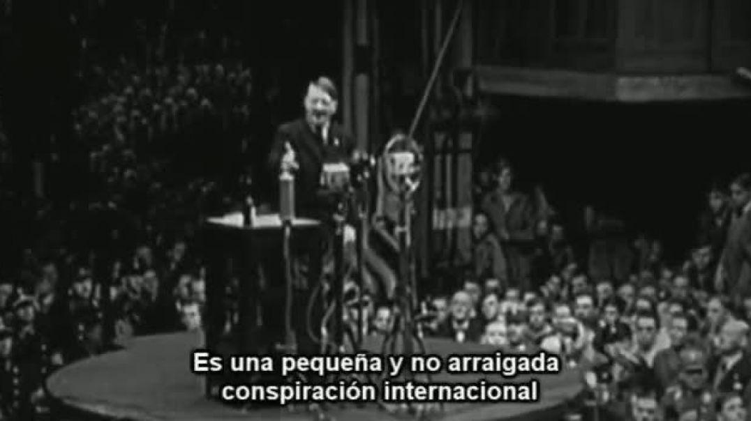 Hitler en la fábrica Siemens de Berlín recuerda acerca del virus judío