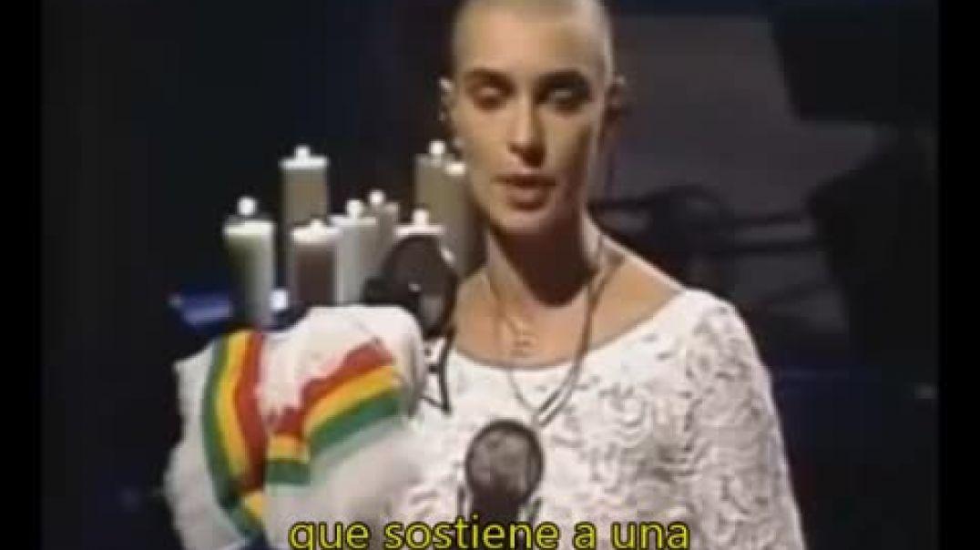 Sinéad O'Connor • El 3 de octubre de 1992