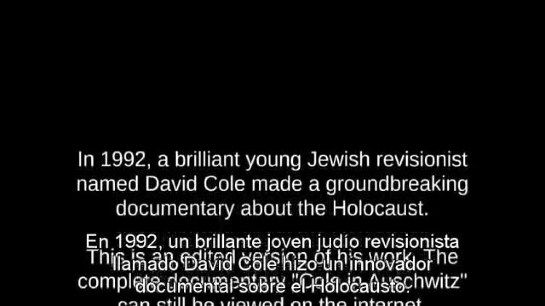 Revisionista judio DAVID COLE DESTRUYE EL HOLOCAUSTO- resumen documental.