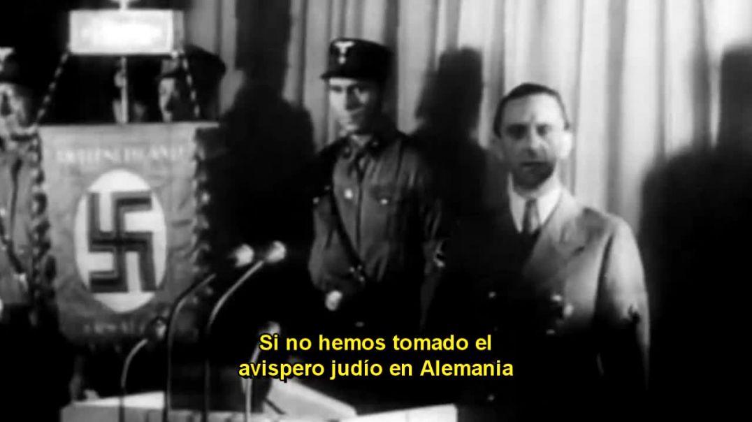 Alemania, segunda guerra mundial, discurso de Joseph Goebbels