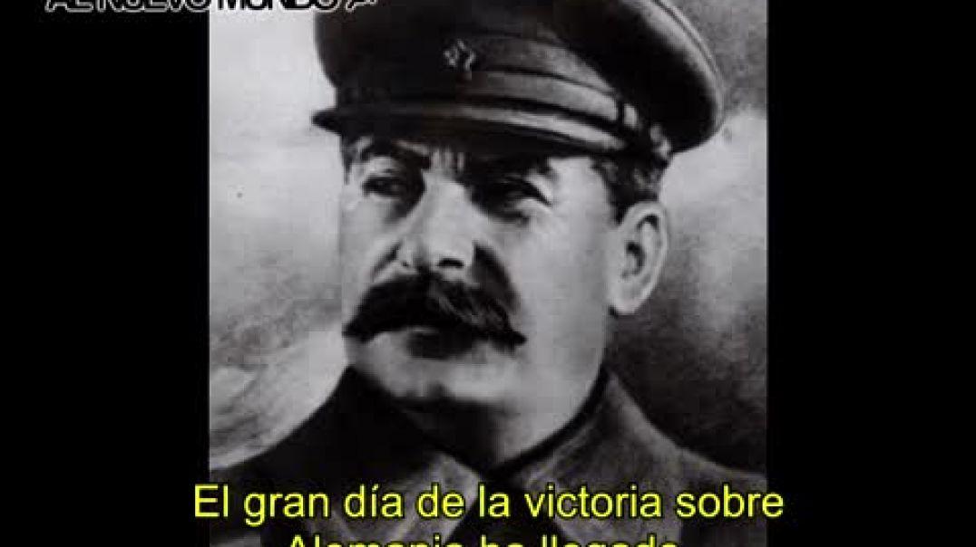 Discurso de Stalin, Dia de la victoria (Mayo 9, 1945)
