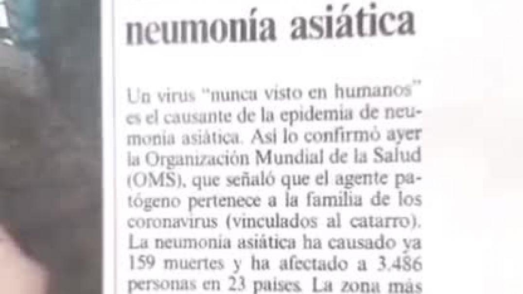 El 17:4:2003 el periodico EL PAIS