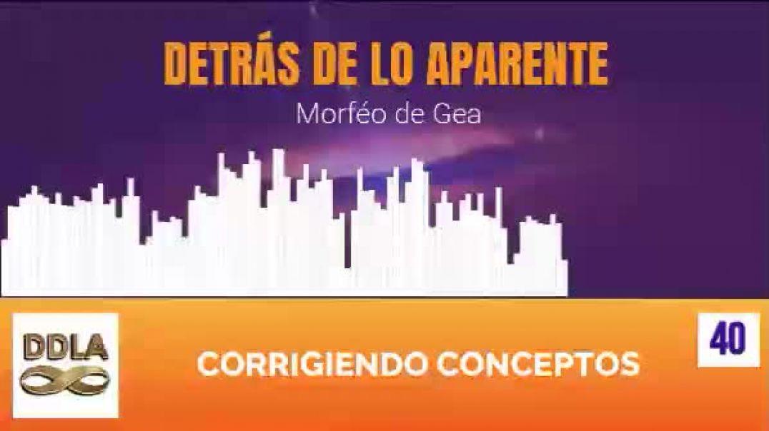 DDLA 040. CORRIGIENDO CONCEPTOS.