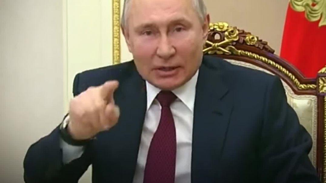 """Putin responde a los insultos de Biden: """"Tenemos códigos genéticos diferentes"""""""