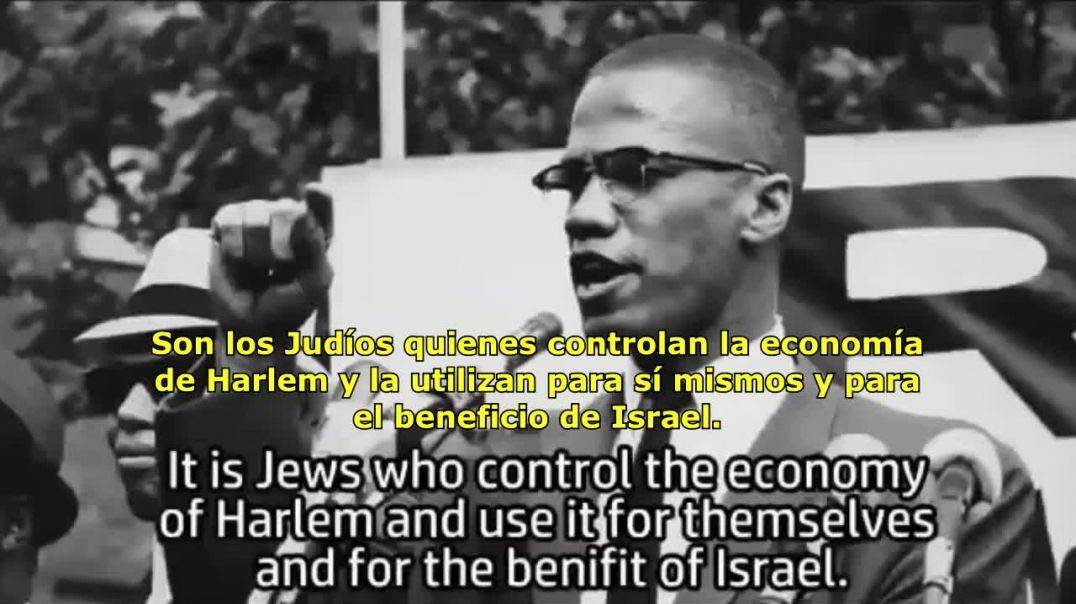 Malcom X hablando de los Judíos
