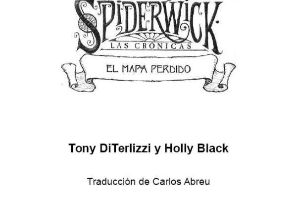 DiTerlizzi, Tony; Black, Holly - Las Crónicas de Spiderwick - 3 - El Mapa Perdido