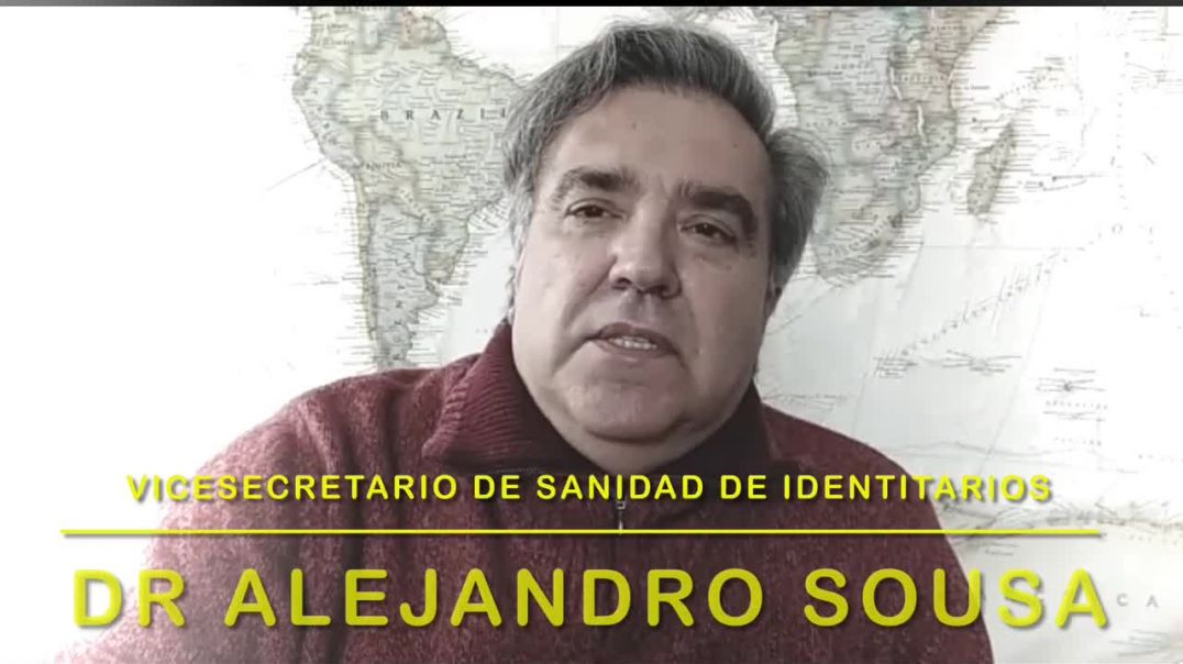 REVELADOR! ?? El mensaje del vicesecretario de sanidad de identitarios