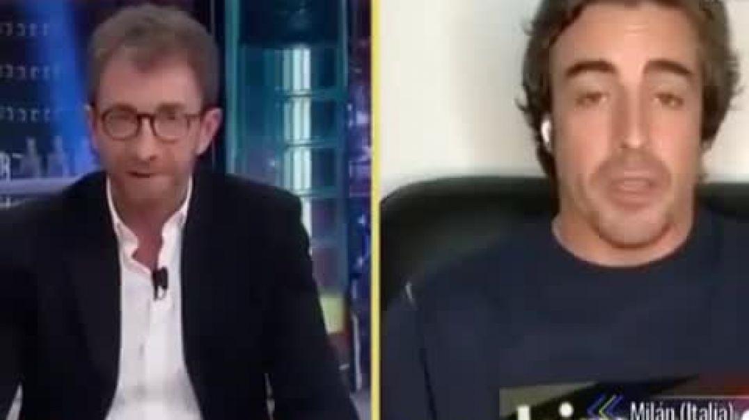 Fernando Alonso y la realidad del bozal