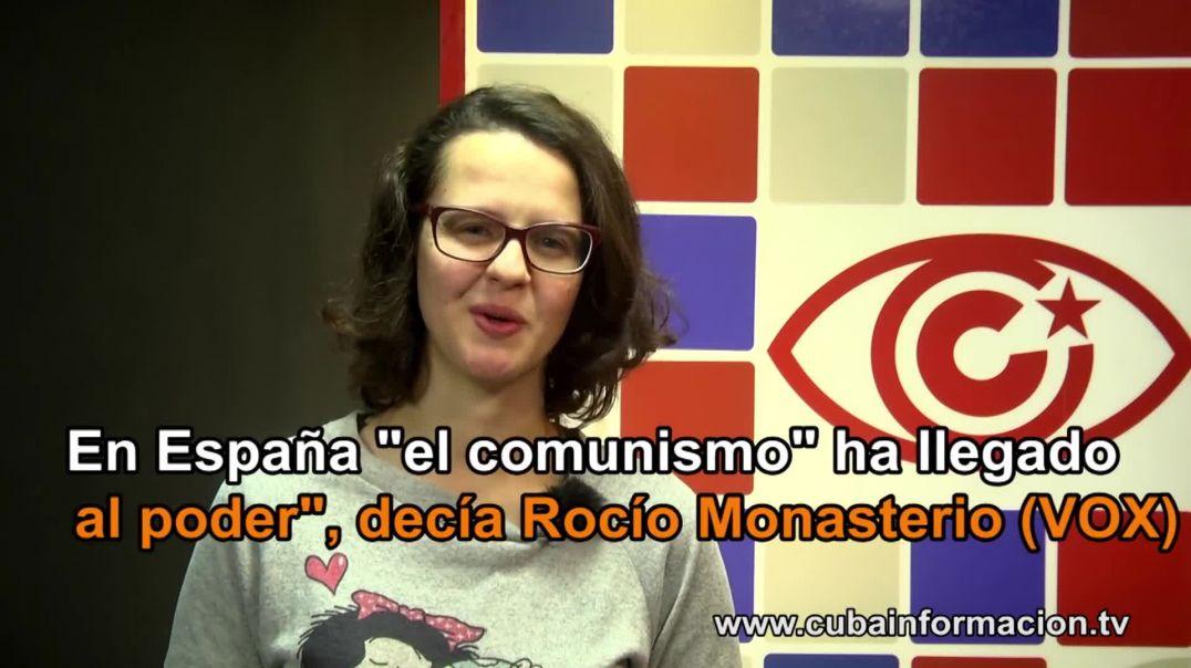 Rocio Monasterio de Batista a Franco - INTRA informa
