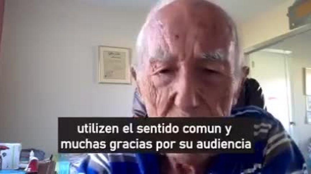 Dr Angel Gracia 90 años de experiencia y sabiduria. Expone