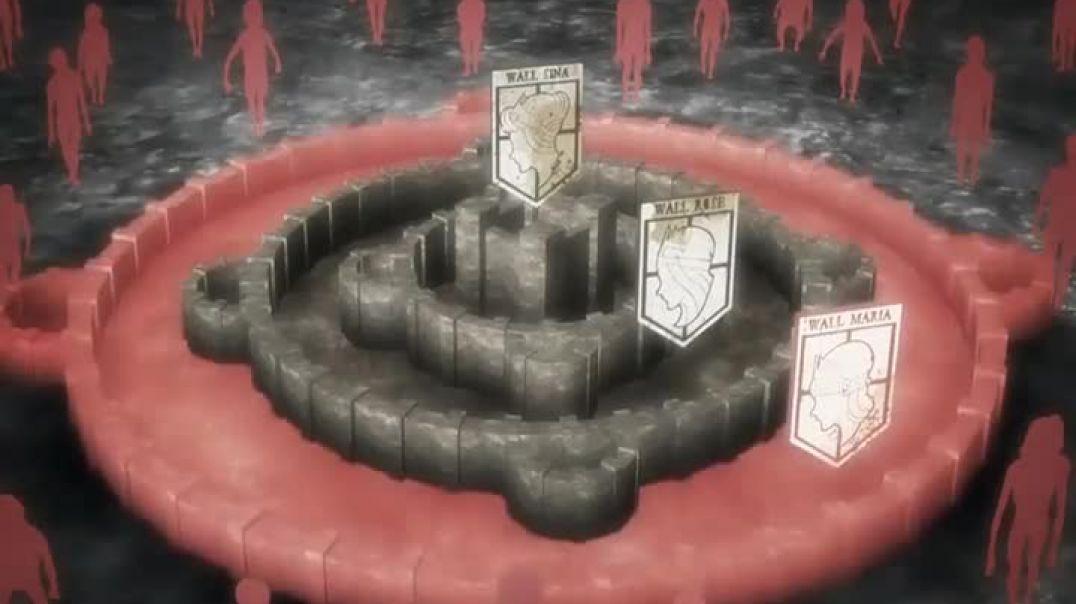 Ataque A Los Titanes (Shingeki no Kyojin) 04 - La noche de la desbandada, la restauración de la Huma