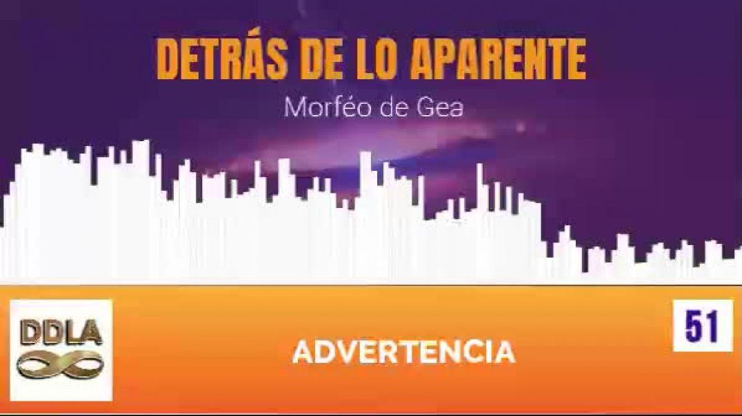 DDLA 051. ADVERTENCIA