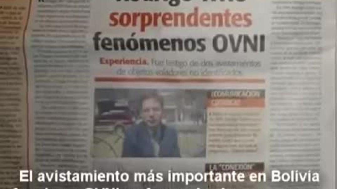 OVNI MÁS VISTO DE LA HISTORIA UFOLÓGICA / PROYECTO OVNIS 2013