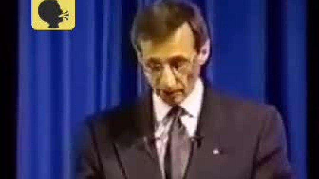DISCURSO DEL FRANC MASON EL DR. PIERRE GILBERT EN EL AÑO 1995   IMPRESIONANTE.