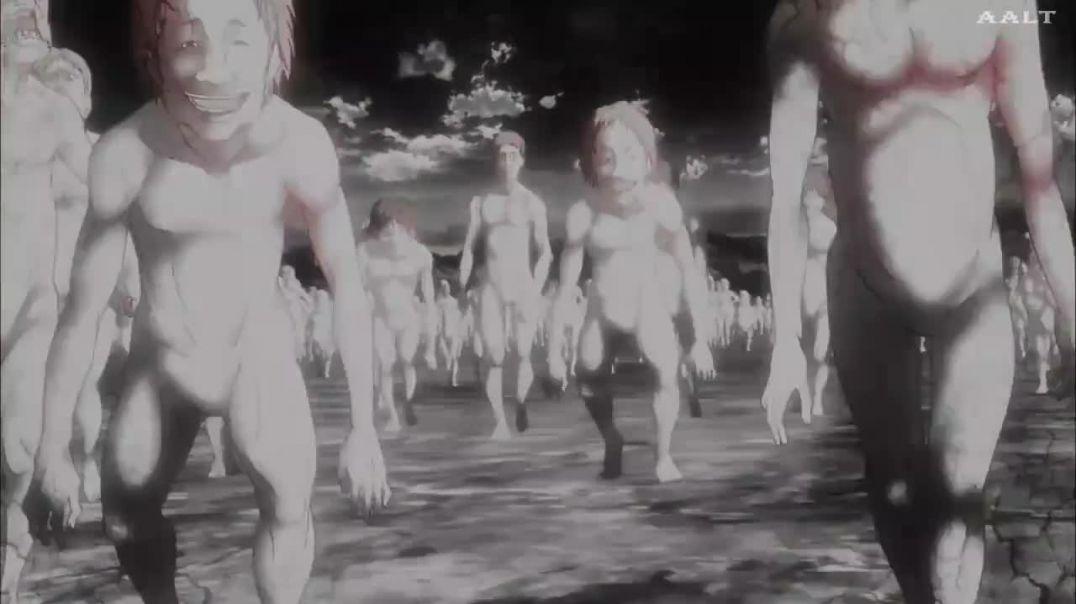 Ataque A Los Titanes (Shingeki no Kyojin) 07 Una Pequeña Hoja - La Defensa De Trost - Parte 3