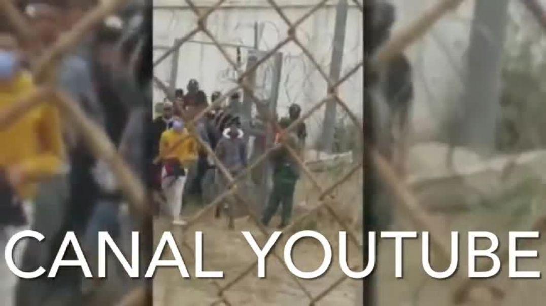ATENCIÓN: Autoridades de Marruecos abriendo la frontera con España