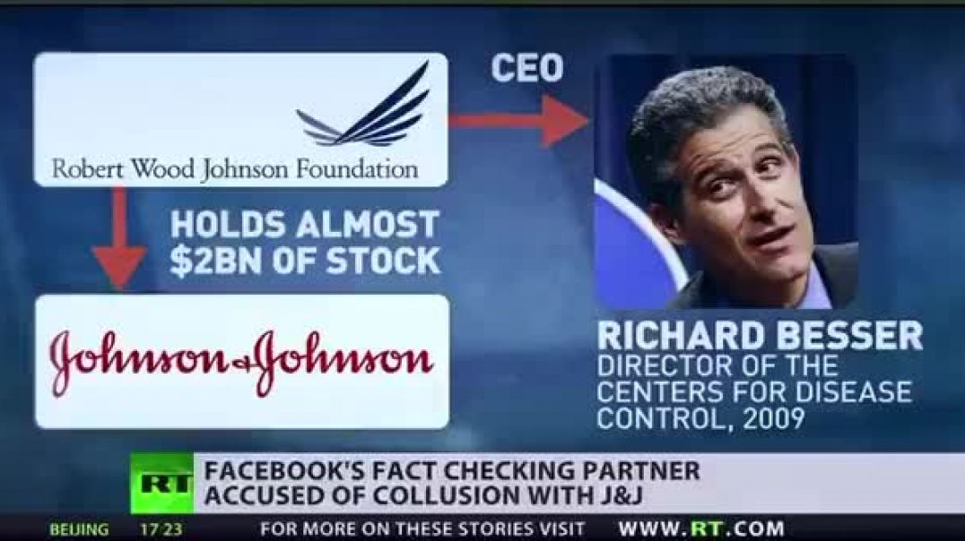Facebook partner FactCheck.org is founded by the pharmaceutical Johnson & Johnson