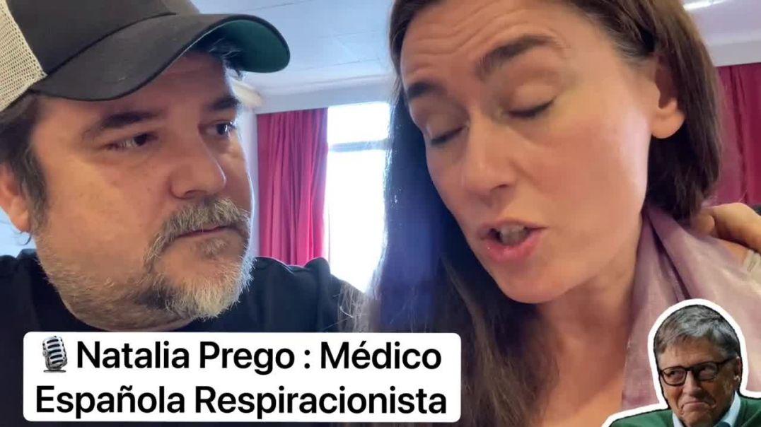 Natalia Prego, medico respiracionista