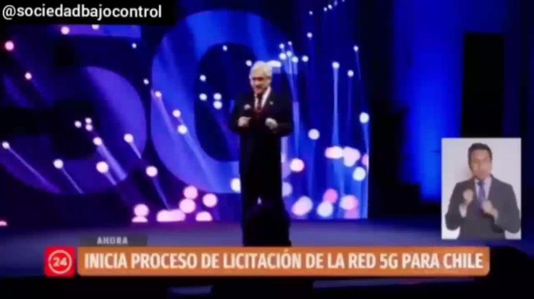 PRESIDENTE CHILE HABLA DE INSERTAR PENSAMIENTOS Y EMOCIONES CON LA TECNOLOGÍA 5G EN SU PRESENTACIÓ