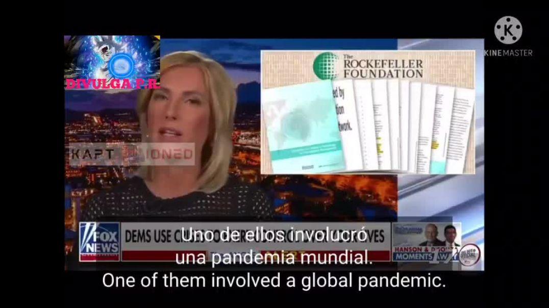 BOMBA !! Laura Ingraham está despertando a las masas al explicar el informe de la Fundación Rockef