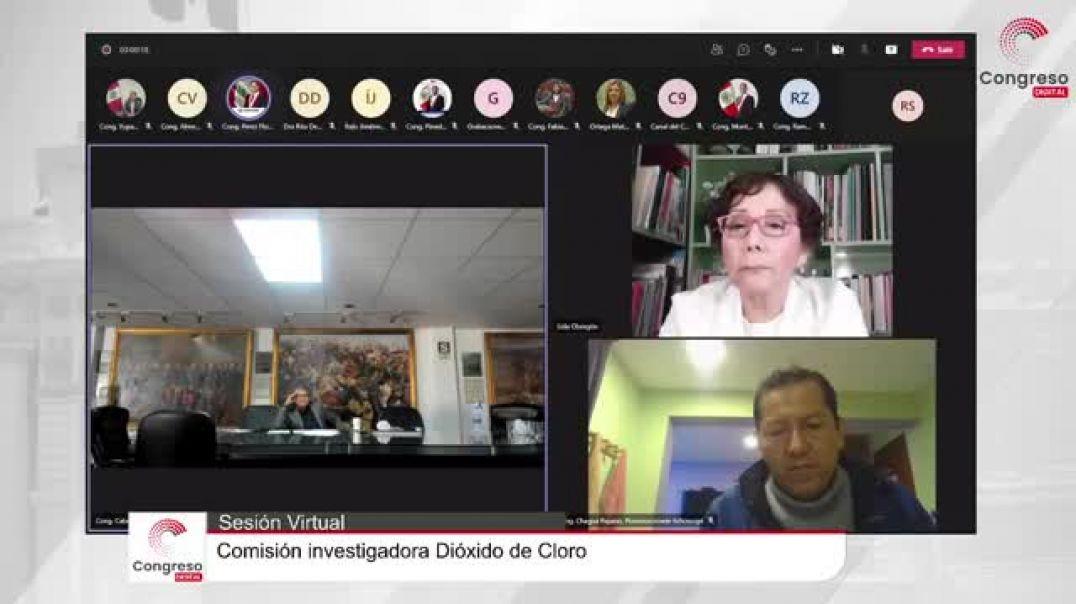 Primera sesión de la comisión-investigadora-dióxido-de-cloro-en-peru