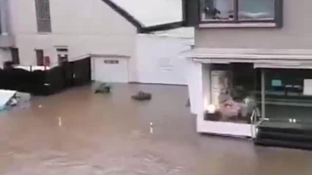 alemania arrasada por las tormentas