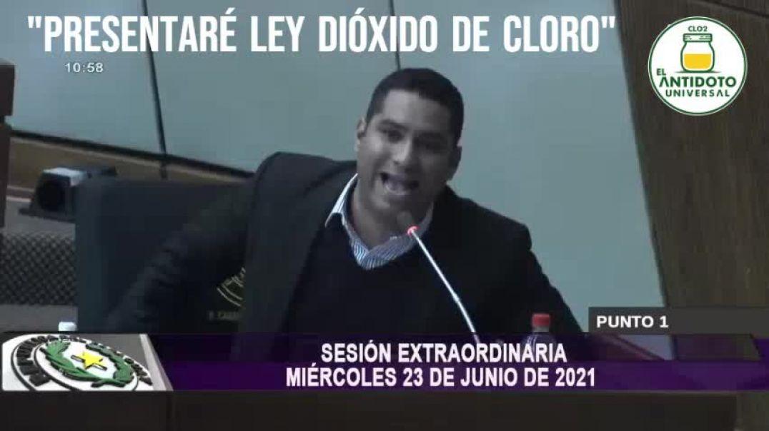 PRESENTARE LEY DIOXIDO DE CLORO