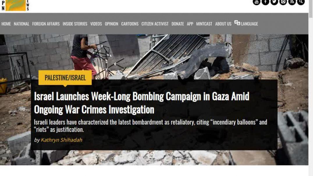 BOMBARDEO de GAZA - agosto 2020 - LO que NO te CONTARON