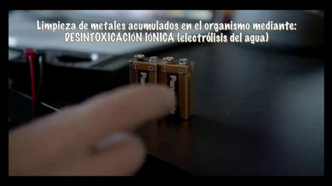 ELIMINAR metales pesados del organismo mediante Desintoxicación Iónica- audio mejorado